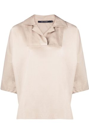 SOFIE D'HOORE Short-sleeve boxy shirt - Neutrals