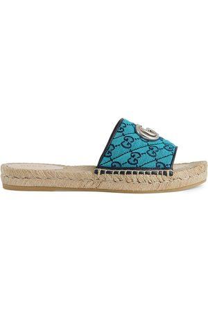 Gucci GG Multicolor espadrille sandals
