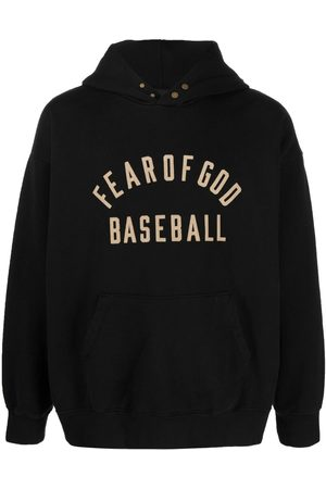 FEAR OF GOD Men Hoodies - Logo-print pullover hoodie
