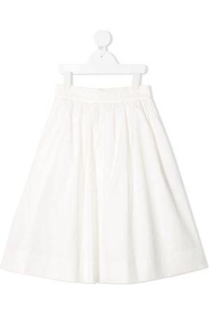 Fendi Pleated A-line skirt