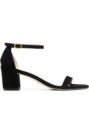 Stuart Weitzman Simple 65mm block-heel sandals
