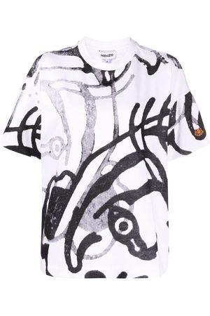 Kenzo Women T-shirts - Abstract-print T-shirt
