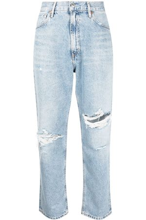 Citizens of Humanity High-waisted straight-leg jeans