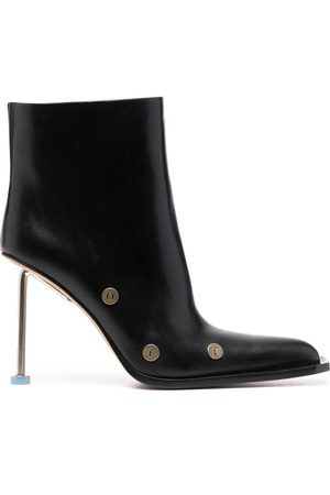 OFF-WHITE Women Boots - Nail leather boots