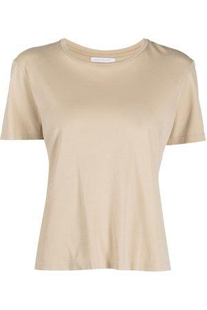 JOHN ELLIOTT High-twist cotton draping T-shirt - Neutrals