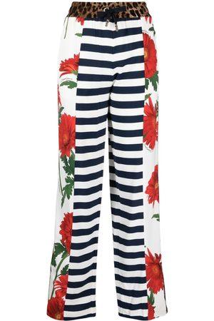 Dolce & Gabbana Multi-panel straight-leg trousers - Neutrals
