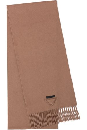 Prada Solid-colour cashmere scarf