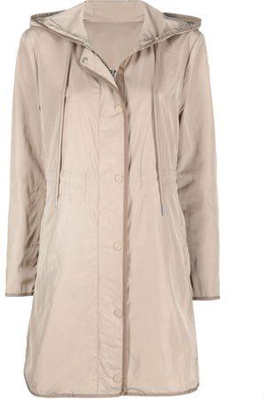 Moncler Lebris hooded parka - Neutrals