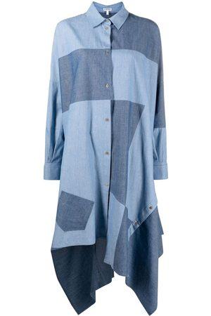 Loewe Patchwork shirt dress