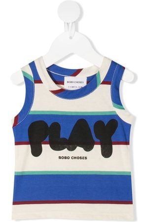 Bobo Choses Striped vest-top