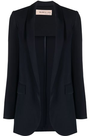 BLANCA Open-front tailored blazer