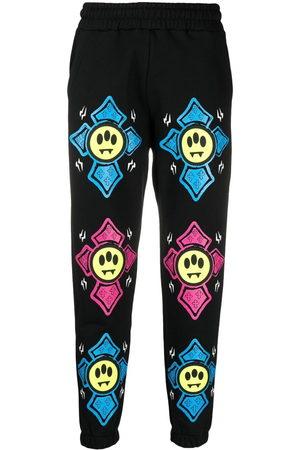 BARROW Sweatpants - Graphic-print mid-rise track pants