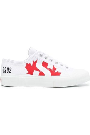 Dsquared2 X Superga logo-print low-top sneakers