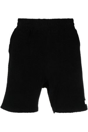 032c Logo-patch cotton shorts