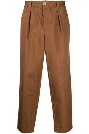 Marni Elasticated-waist straight-leg trousers