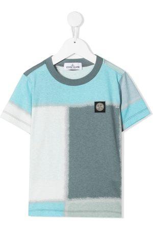 Stone Island Colour-block T-shirt - Grey