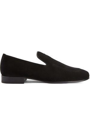 Giuseppe Zanotti Rudolph velvet loafers