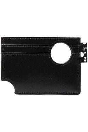 OFF-WHITE Holes-detail cardholder