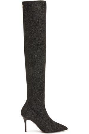 Giuseppe Zanotti Felicity glitter thigh-high boots