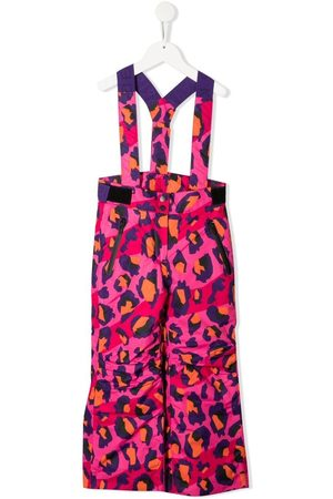 Kenzo Leopard-print dungarees
