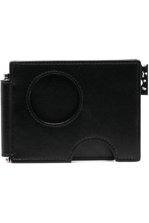 OFF-WHITE Cut-out compact cardholder