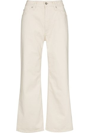 Jil Sander Wide-leg high-rise jeans - Neutrals