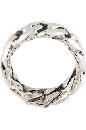 EMANUELE BICOCCHI Men Rings - Rigid chain ring