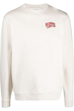 Billionaire Boys Club Arch logo-print cotton sweatshirt - Neutrals