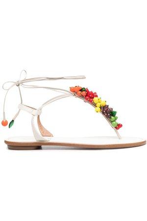Aquazzura Women Flat Shoes - Tutti Frutti flat sandals
