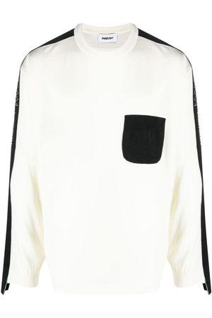 AMBUSH Two-tone patch-pocket sweatshirt