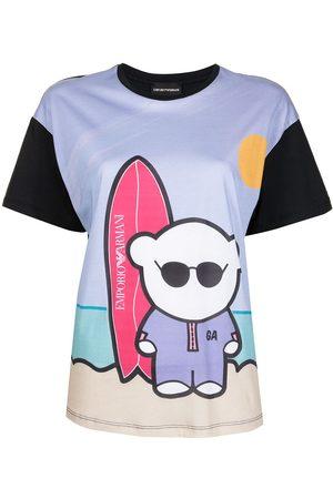 Emporio Armani Women T-shirts - Graphic-print T-shirt