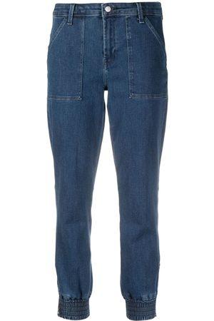 J Brand Arkin slim-fit cropped jeans
