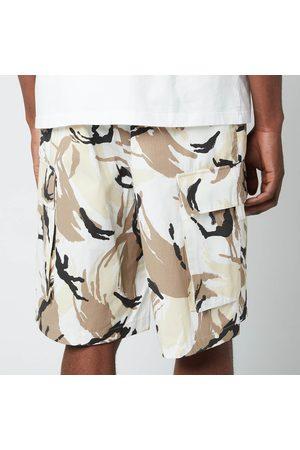 Kenzo Men's Tropic Camo Printed Cargo Pants