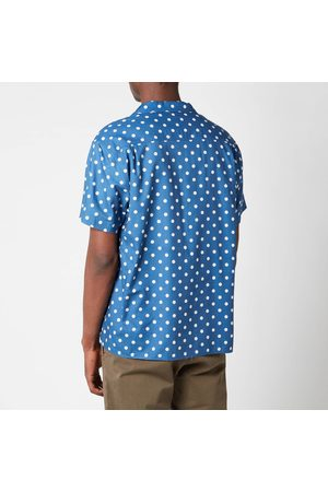 YMC Men's Malick Dot Short Sleeve Shirt