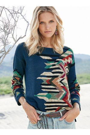 Peruvian Connection Women Cardigans - Marrakesh Pima Cotton Pullover