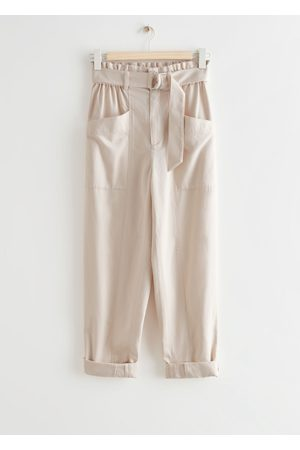 & OTHER STORIES Relaxed Paperbag Waist Trousers