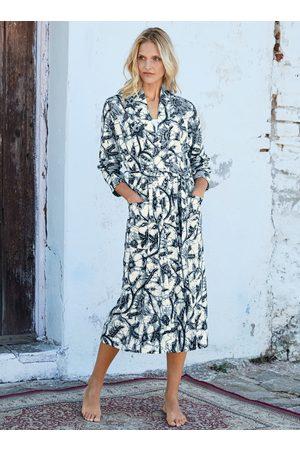 Peruvian Connection Women Bathrobes - Java Pima Cotton Robe