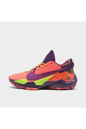 Nike Zoom Freak 2 Basketball Shoes in /Bright Mango Size 7.5
