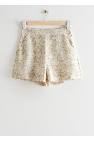 & OTHER STORIES Floral Print Shorts