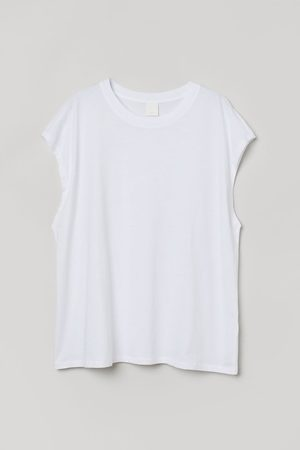H&M Jersey Sleeveless Top