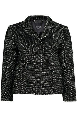 Marc Jacobs Women Blazers - Tweed Shaped Jacket w Strass
