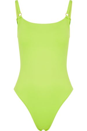 Melissa Odabash Tosca lime swimsuit