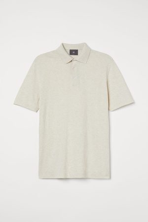 H&M Fine-knit Polo Shirt