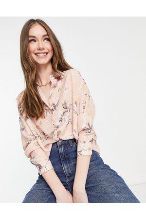 ASOS Long sleeve shirt in floral print