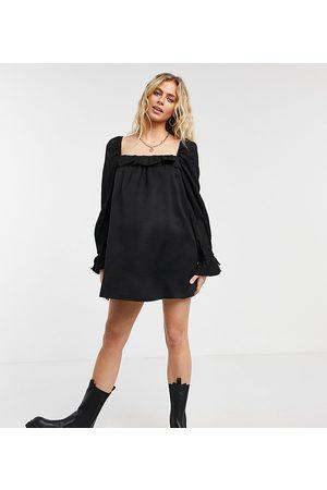 Fashion Union Mini smock dress in poplin