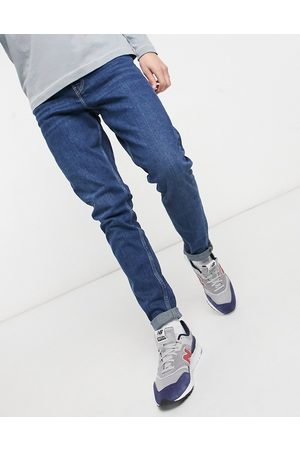 Weekday Cone jeans in sway blue-Blues
