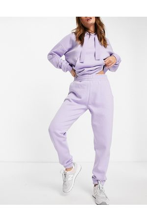 Chelsea Peers Eco jersey lounge sweatpants in lilac