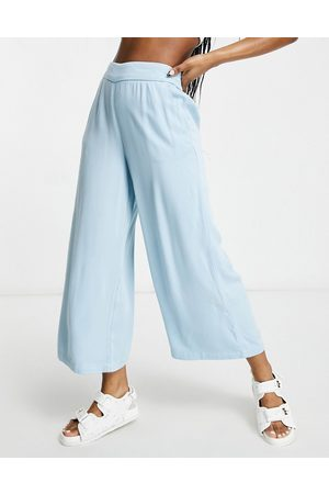 VILA Culottes in blue-Blues