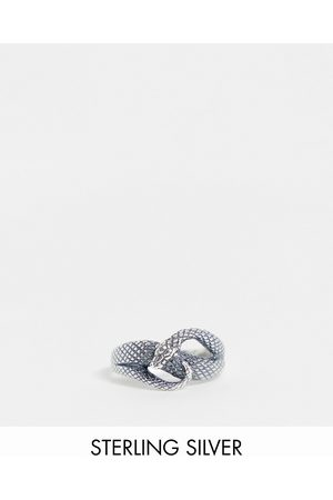 ASOS Sterling ring with wrap around snake design in