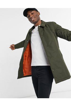 Harry Brown Khaki padded coat